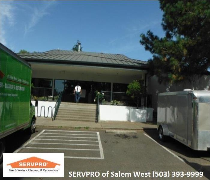 Salem Oregon, Commercial Water Damage Before