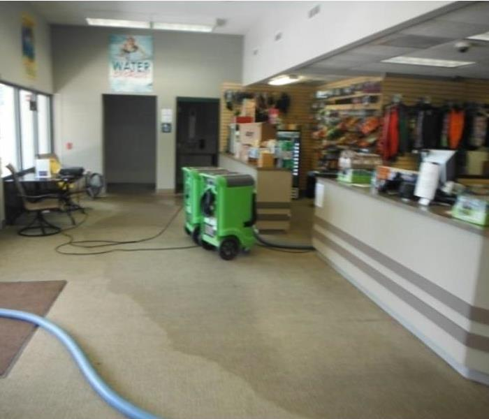 Salem Oregon, Commercial Water Damage After