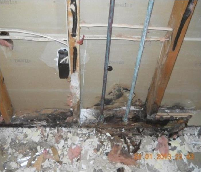 Mold Growth In Independence, Oregon Before