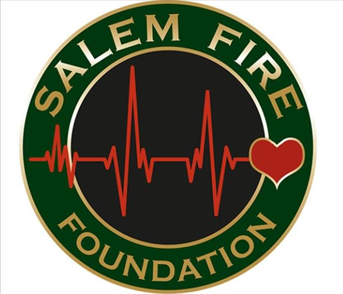 The Salem Fire Foundation Logo is Pictured