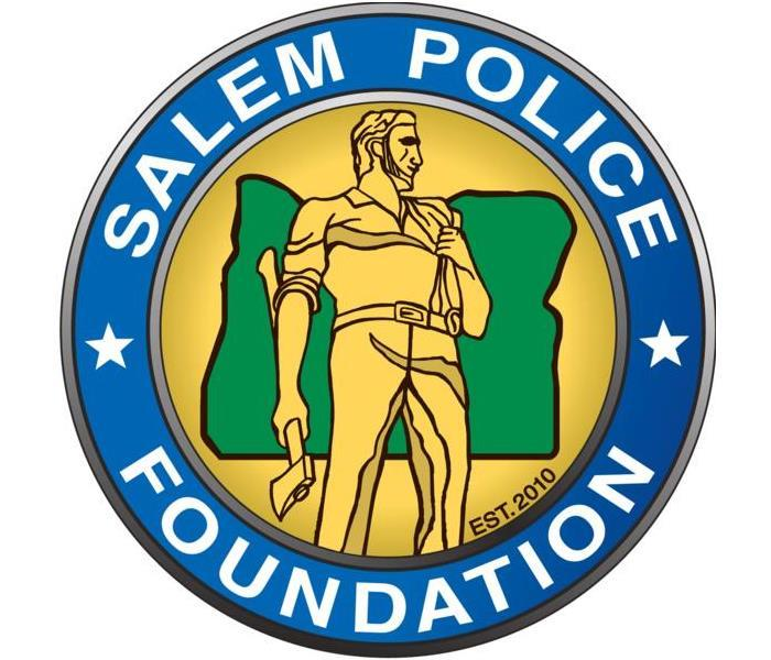 The Salem Police Foundation Logo is Pictured