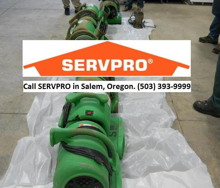 Cleaning Equipment in Salem, Oregon.