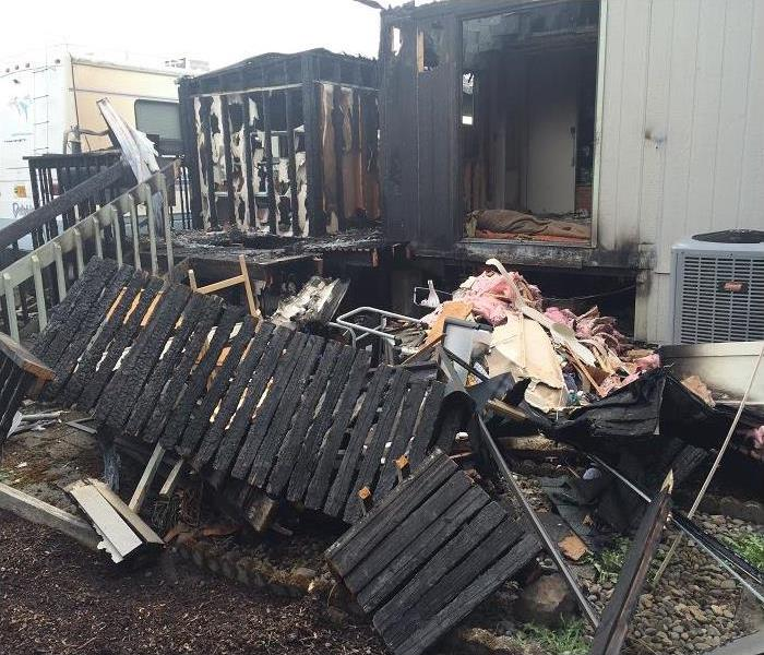 Fire Damage in Salem, Oregon