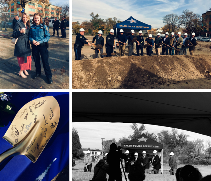Salem Police Department Ground Breaking Ceremony