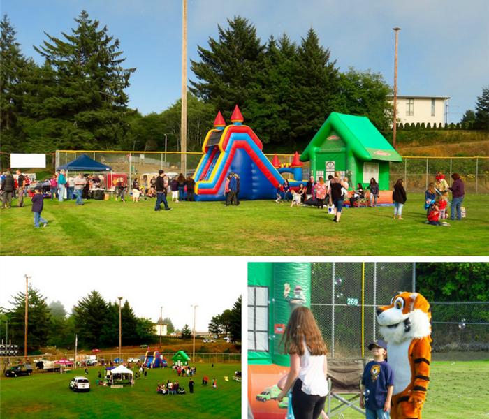 1st Annual National Night Out - Lincoln City, Oregon