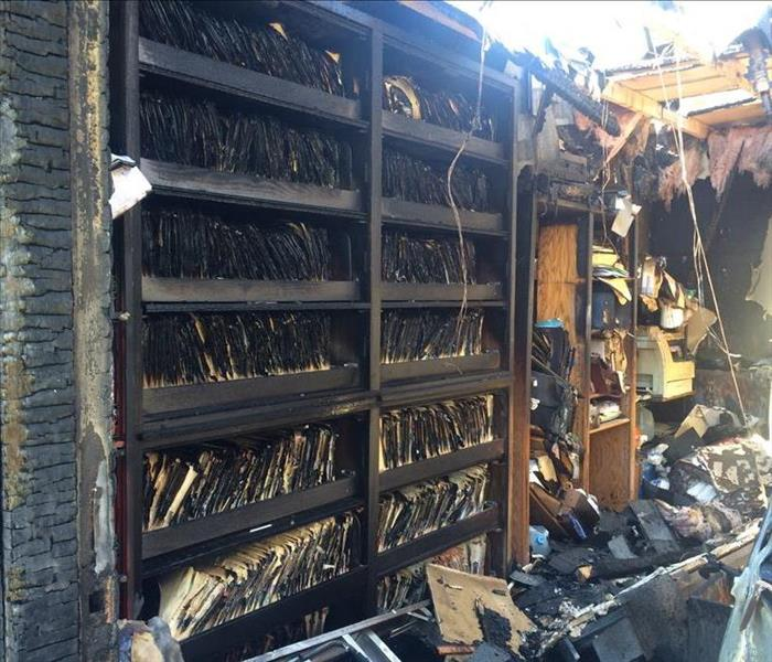 Document Recovery - Fire Damage - We do it all