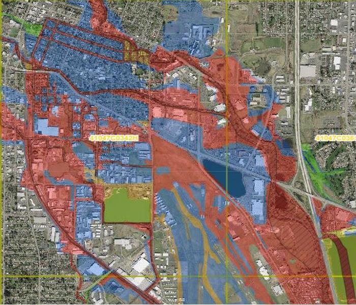 Salem Flood Map   SERVPRO of Salem West