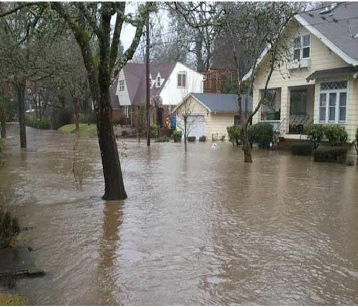 Water Damage Keizer, Oregon vs. Willamette River