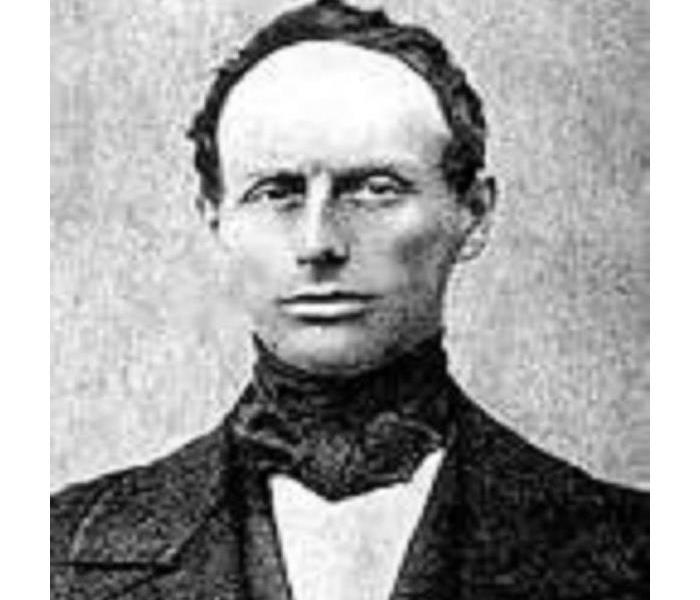 antique photo of Christian Doppler